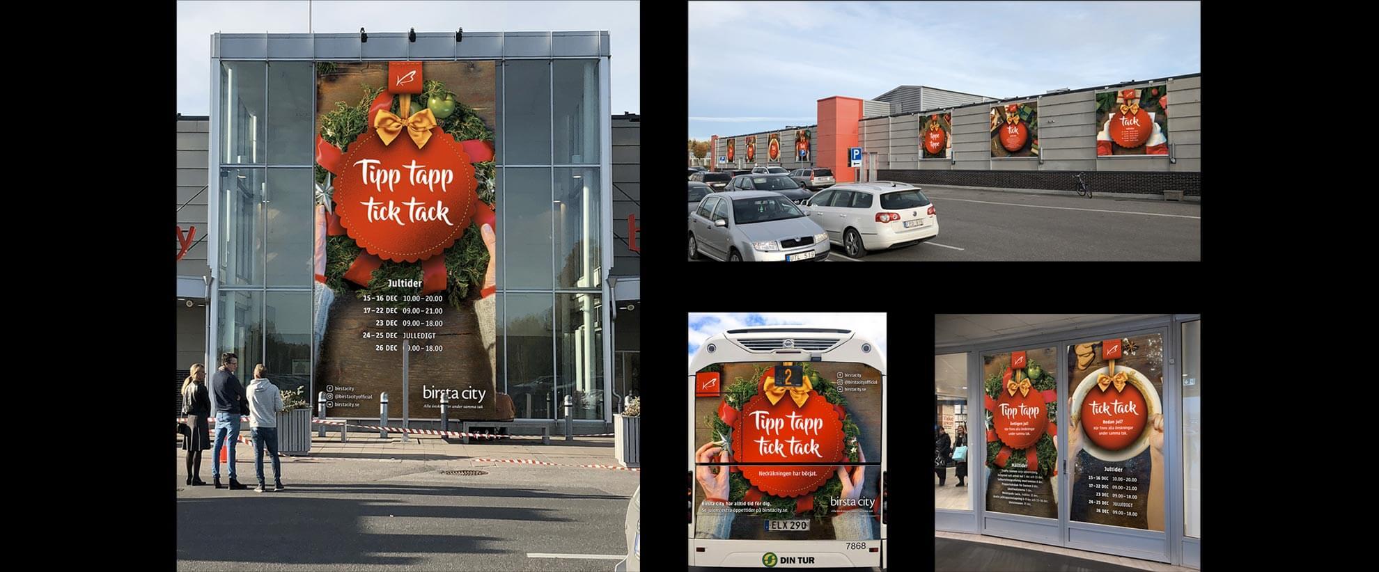 Julkampanj för Birsta City