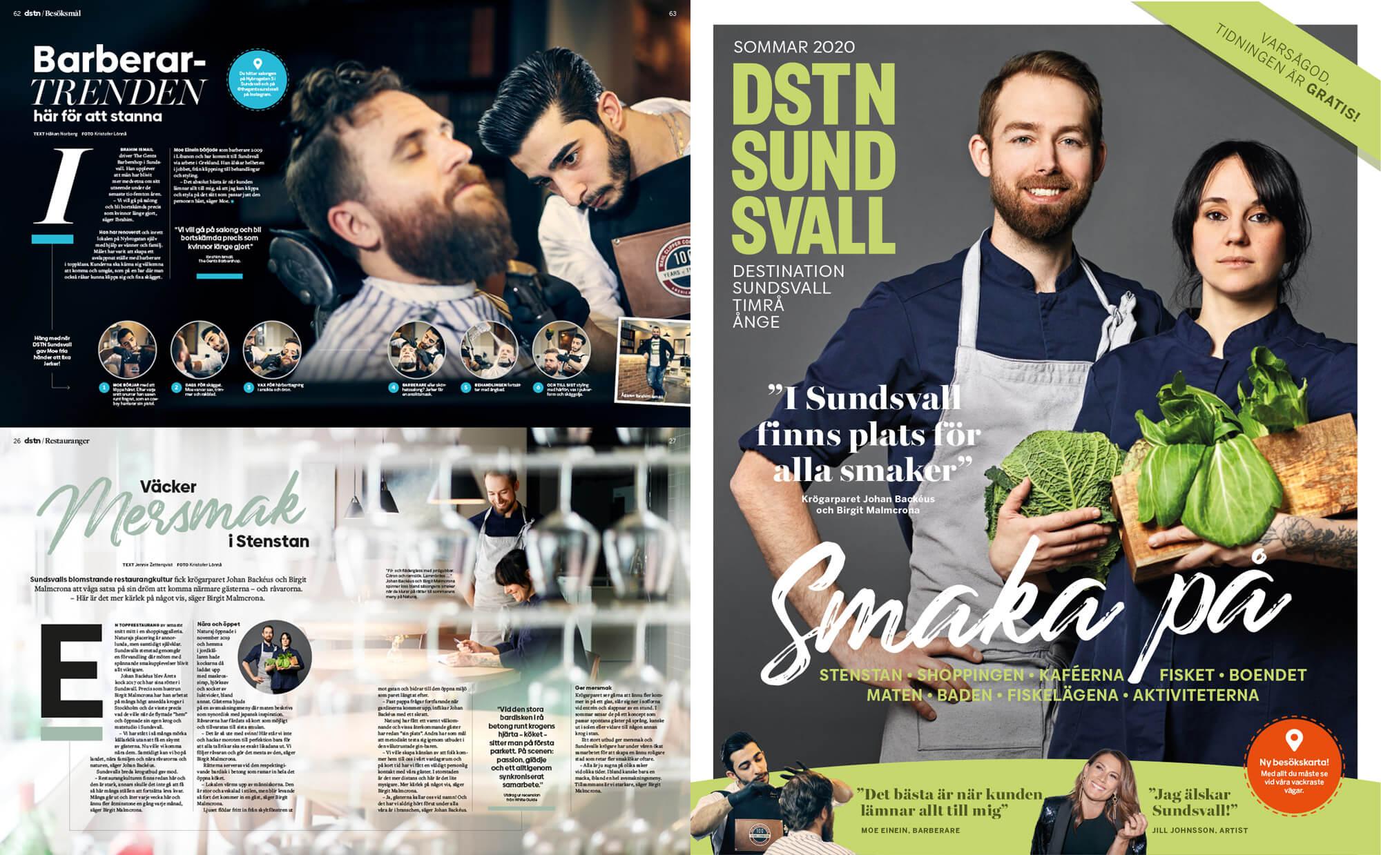 DSTN Sundsvall uppslag